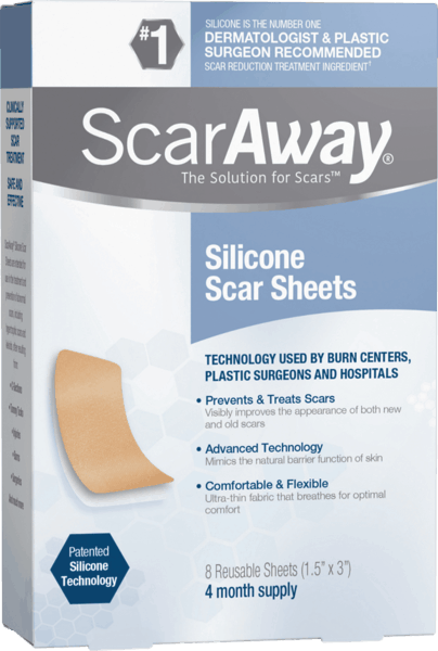 $3.00 for ScarAway® Silicone Scar Sheets. Offer available at multiple stores.