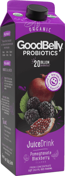 $1.00 for GoodBelly® Probiotics JuiceDrink (expiring on Saturday, 10/06/2018). Offer available at multiple stores.
