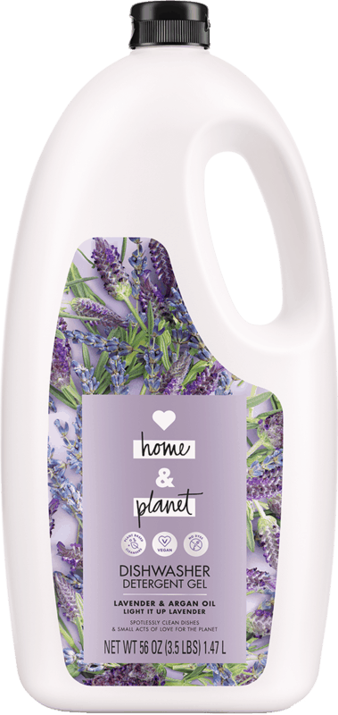 $2.00 for Love Home and Planet™ Dishwasher Detergent Gel (expiring on Monday, 12/02/2019). Offer available at Harris Teeter.