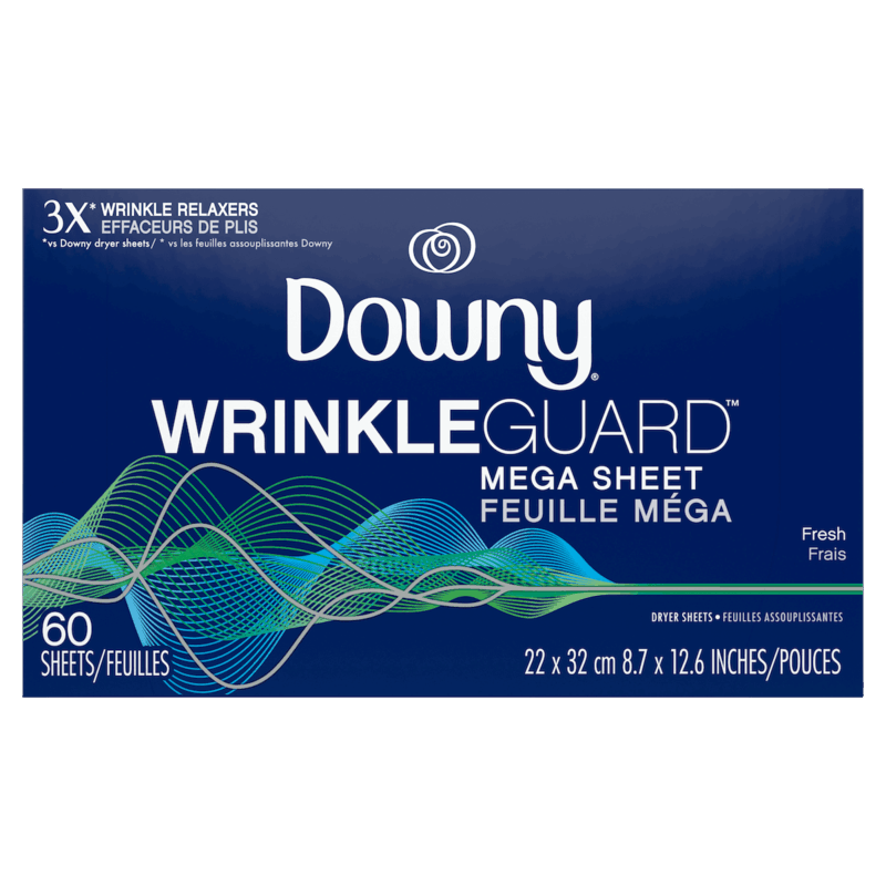 $0.50 for Downy WrinkleGuard Dryer Sheets (expiring on Friday, 12/11/2020). Offer available at Walmart, Walmart Grocery.