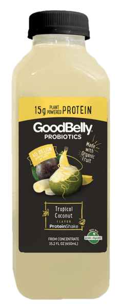 $1.00 for GoodBelly® Probiotics Protein Shake (expiring on Sunday, 05/20/2018). Offer available at Meijer, Whole Foods Market®.
