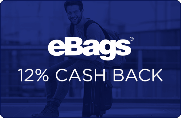 $0.00 for eBags (expiring on Thursday, 03/08/2018). Offer available at eBags.