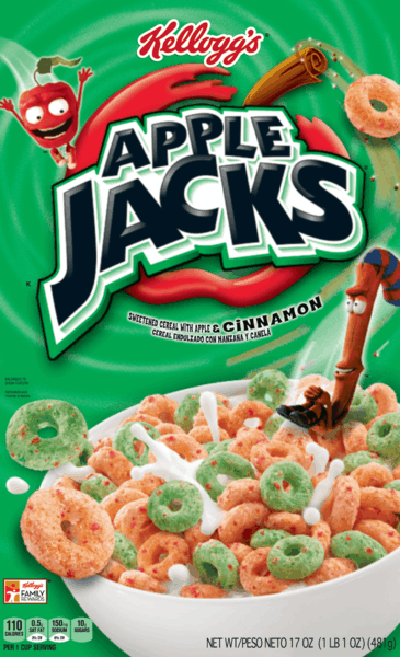 $1.00 for Kellogg's® Apple Jacks® Cereal (expiring on Monday, 07/01/2019). Offer available at Publix.