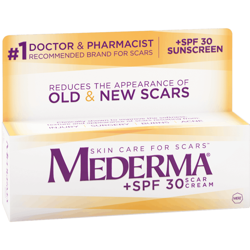 $4.00 for Mederma Scar Cream + SPF 30. Offer available at Target, Target Online.