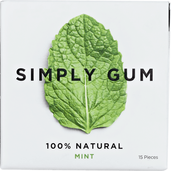 $0.50 for Simply Gum Natural Chewing Gum (expiring on Monday, 12/31/2018). Offer available at multiple stores.