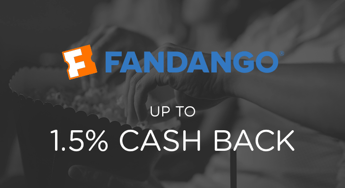 $0.00 for Fandango (expiring on Monday, 03/31/2025). Offer available at Fandango.