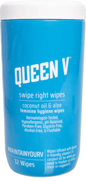 $1.00 for Queen V™ Swipe Right Wipes (expiring on Saturday, 03/16/2019). Offer available at Walmart.