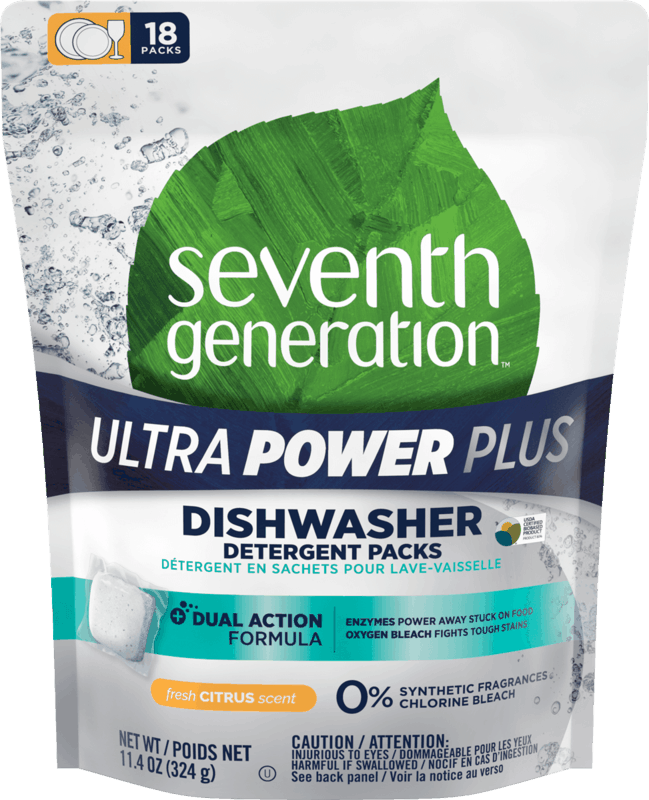 $1.00 for Seventh Generation Dishwasher Detergent (expiring on Sunday, 11/01/2020). Offer available at multiple stores.