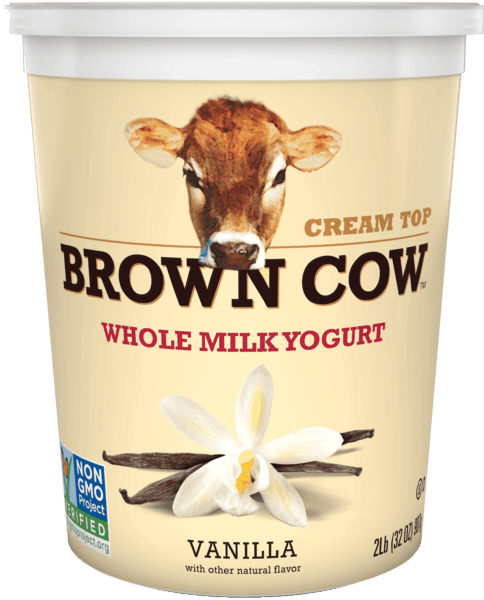 $1.00 for Brown Cow Cream Top Large Cup Yogurt (expiring on Monday, 09/02/2019). Offer available at multiple stores.