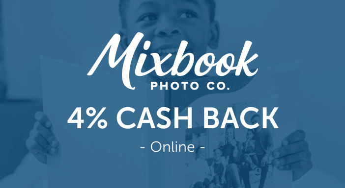 $0.00 for Mixbook (expiring on Tuesday, 09/30/2025). Offer available at Mixbook.