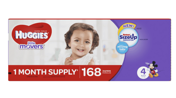 $4.00 for HUGGIES (expiring on Sunday, 12/10/2017). Offer available at Sam's Club.