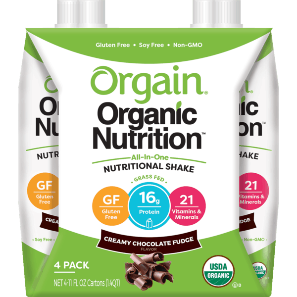 $2.00 for Orgain® Organic Nutrition Shakes (expiring on Monday, 04/01/2019). Offer available at multiple stores.