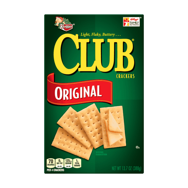 $0.50 for Keebler® Club® Crackers. Offer available at multiple stores.