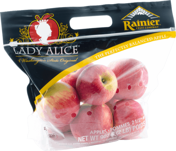 $1.00 for Lady Alice® Apples (expiring on Monday, 04/01/2019). Offer available at Whole Foods Market®, Trader Joe's.