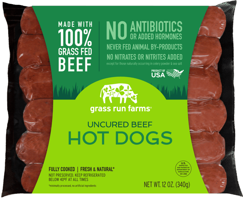$0.75 for Grass Run Farms Uncured Beef Hot Dogs (expiring on Friday, 09/04/2020). Offer available at Lunds & Byerlys, Sprouts Farmers Market.