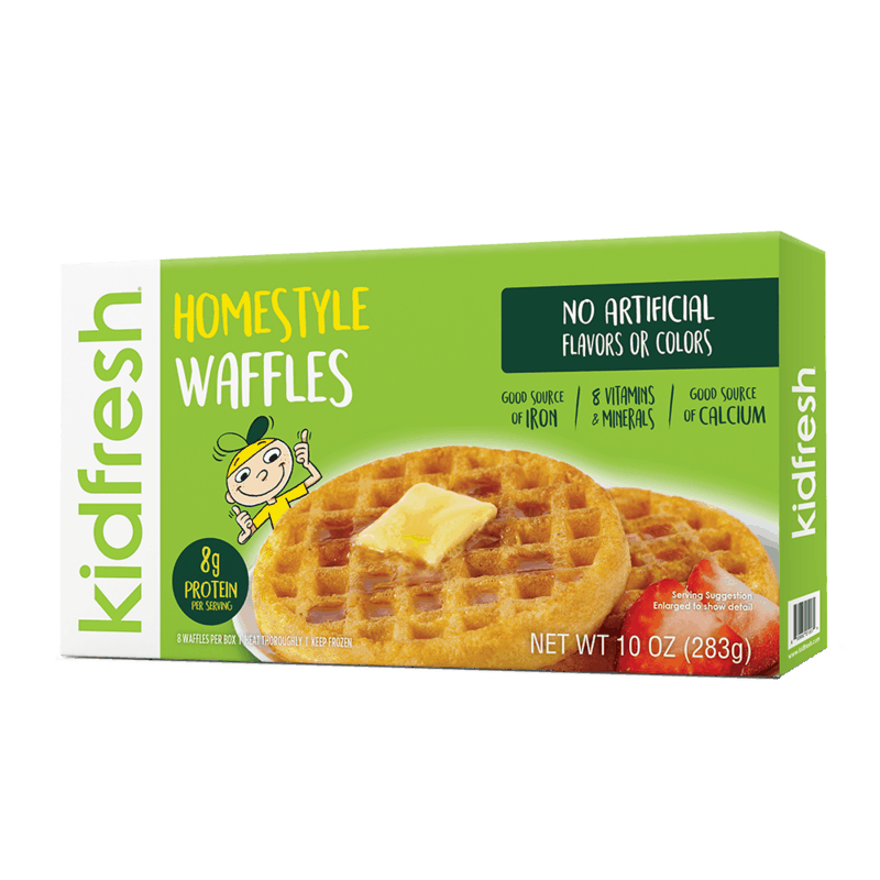 $0.75 for Kidfresh® Frozen Waffles (expiring on Saturday, 02/29/2020). Offer available at multiple stores.