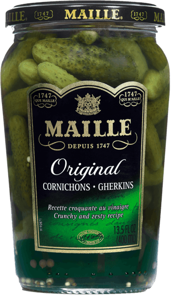 $1.50 for Maille Cornichons (expiring on Wednesday, 04/04/2018). Offer available at multiple stores.