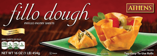 $1.00 for Athens® Fillo Dough. Offer available at multiple stores.