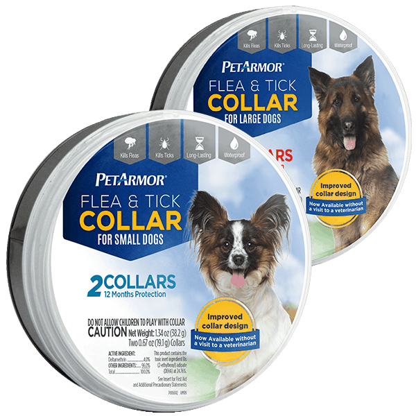 $4.00 for PetArmor® Flea & Tick Collars for Dogs (expiring on Monday, 04/02/2018). Offer available at Walgreens.