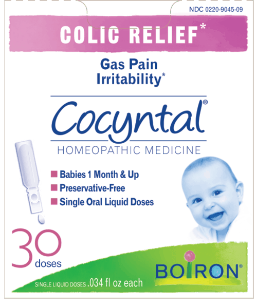 $1.00 for Boiron® Cocyntal® (expiring on Wednesday, 08/01/2018). Offer available at Walgreens, Whole Foods Market®, Sprouts Farmers Market, Vitamin Shoppe.
