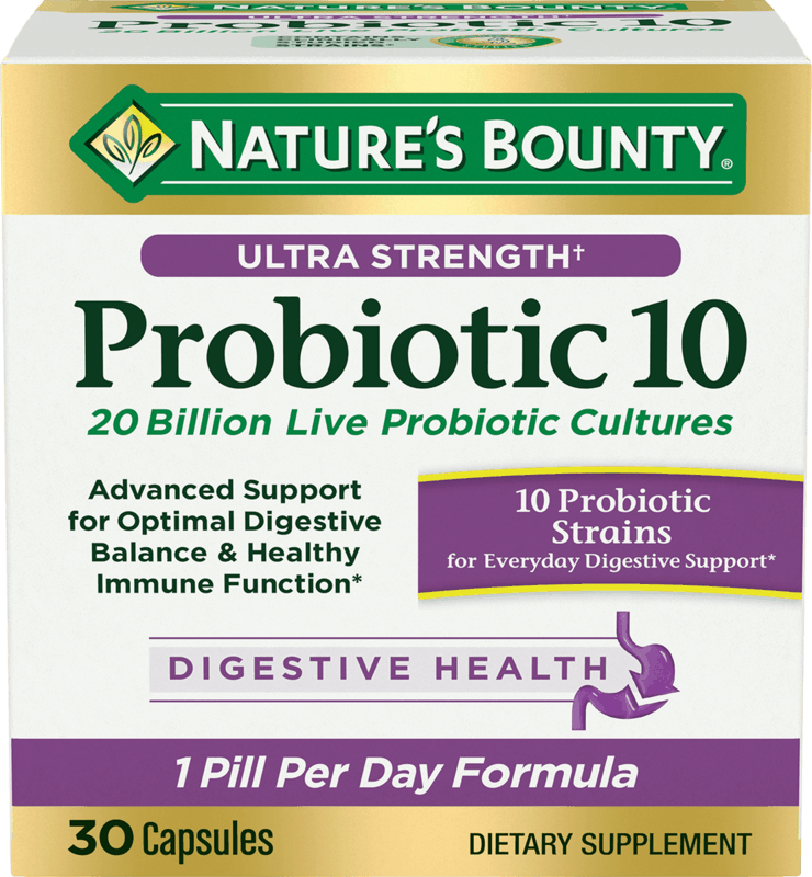 $3.00 for Nature's Bounty Ultra Strength Probiotic 10 (expiring on Friday, 04/23/2021). Offer available at Target, Target Online.