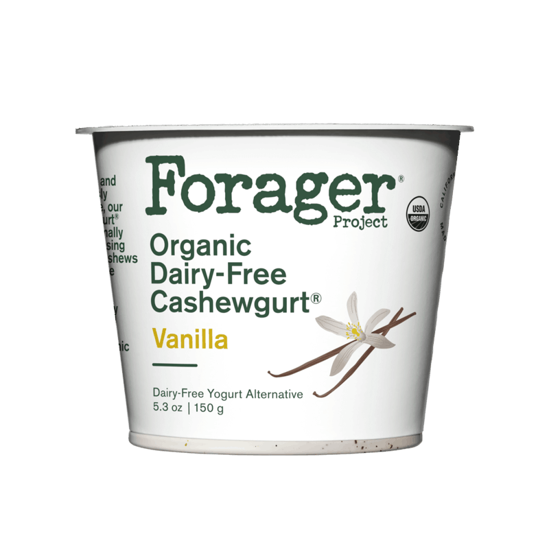 $0.40 for Forager Organic, Dairy-Free Cashewgurt® (expiring on Tuesday, 10/01/2019). Offer available at multiple stores.