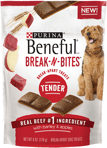 $0.75 for Purina® Beneful® Break-N-Bites™ Dog Treats (expiring on Tuesday, 05/30/2017). Offer available at multiple stores.