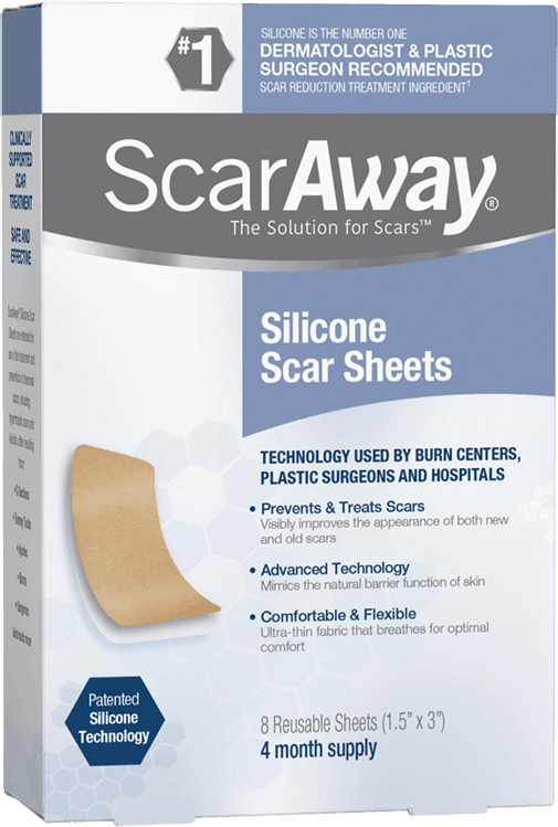 $3.00 for ScarAway® Silicone Scar Sheets (expiring on Thursday, 04/02/2020). Offer available at multiple stores.