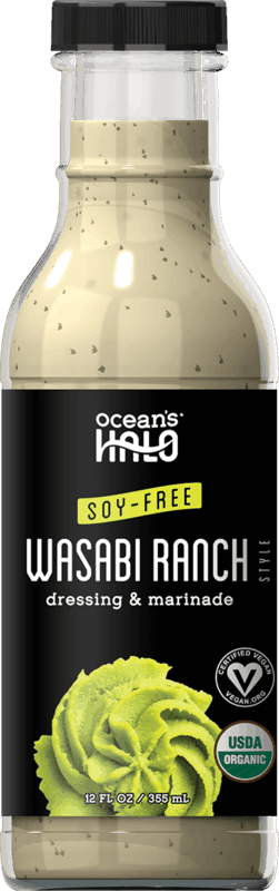 $1.00 for Ocean's Halo Wasabi Ranch Salad Dressing (expiring on Sunday, 10/31/2021). Offer available at Walmart, Rite Aid, Weis Markets, The Fresh Market.