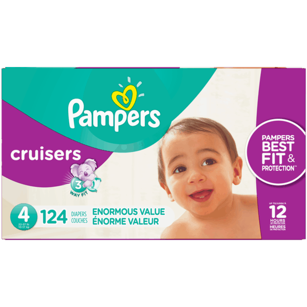 $3.00 for Pampers® Cruisers™ (expiring on Saturday, 09/29/2018). Offer available at Walmart.