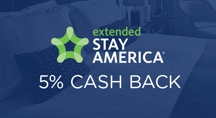 $0.00 for Extended Stay America (expiring on Friday, 12/31/2021). Offer available at Extended Stay America.