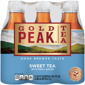 $0.50 for Gold Peak® Tea (expiring on Wednesday, 06/06/2018). Offer available at multiple stores.