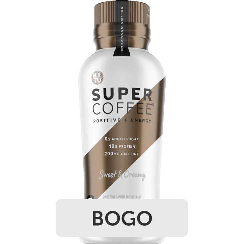 $2.87 for Super Coffee Bottles (expiring on Sunday, 07/11/2021). Offer available at Walmart, Walmart Pickup & Delivery.