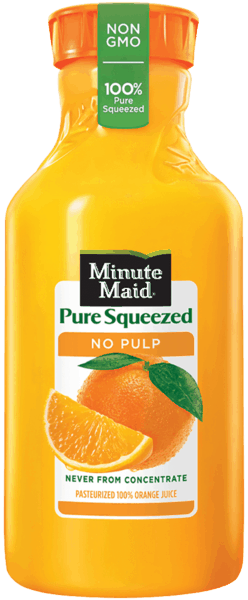 $0.50 for Minute Maid® Pure Squeezed (expiring on Sunday, 08/19/2018). Offer available at Publix.