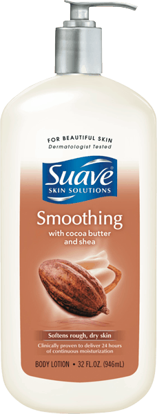 $1.00 for Suave® Body Lotion (expiring on Sunday, 04/02/2017). Offer available at Walmart.