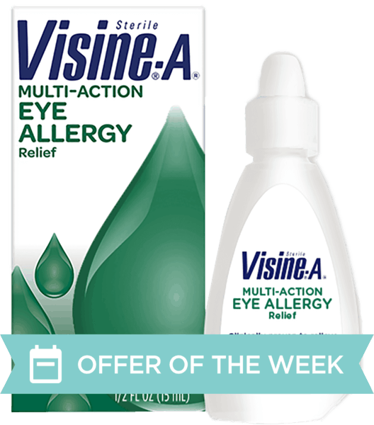 $1.50 for Visine®. Offer available at Walmart.