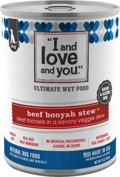 $0.25 for I and Love and You® Canned Dog Food (expiring on Sunday, 06/02/2019). Offer available at multiple stores.