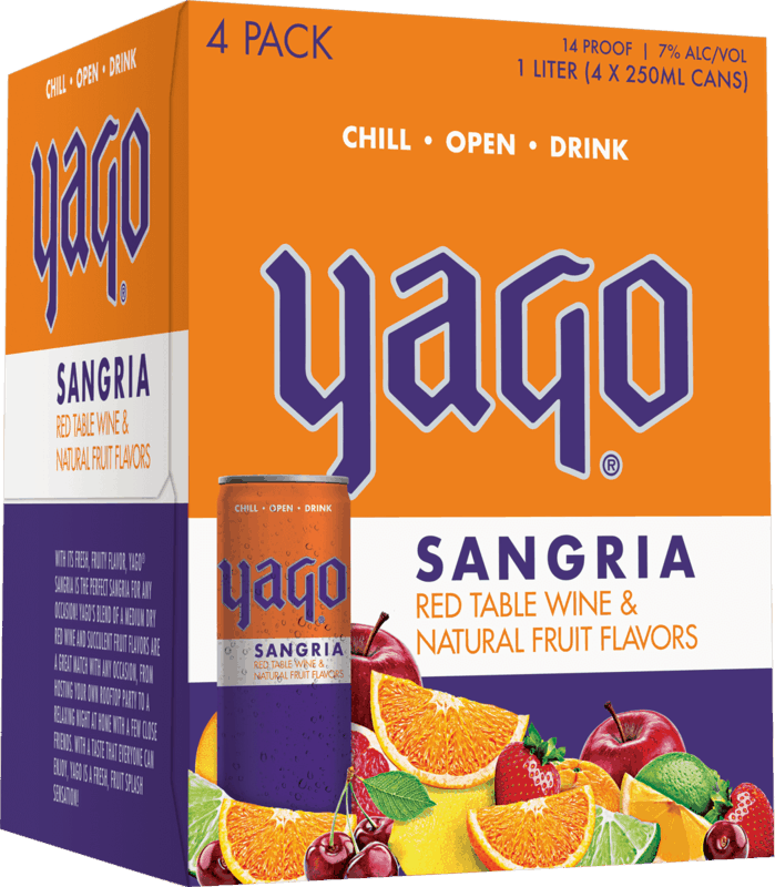 $1.00 for Yago Sant' Gria (expiring on Friday, 01/01/2021). Offer available at multiple stores.