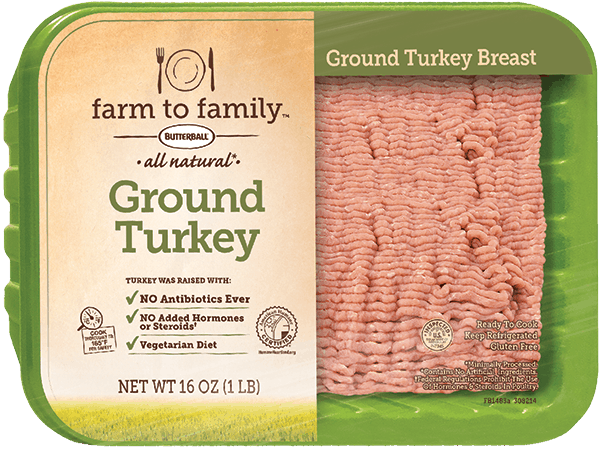 $1.00 for Butterball® Ground Turkey. Offer available at Walmart, ShopRite, Winn-Dixie.