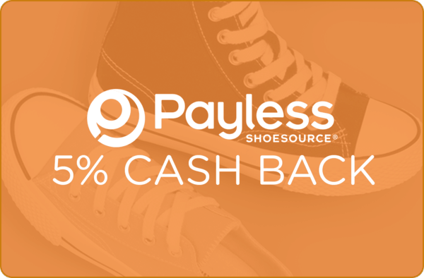 $0.00 for 5% at Payless ShoeSource (expiring on Wednesday, 01/31/2018). Offer available at Big Lots.