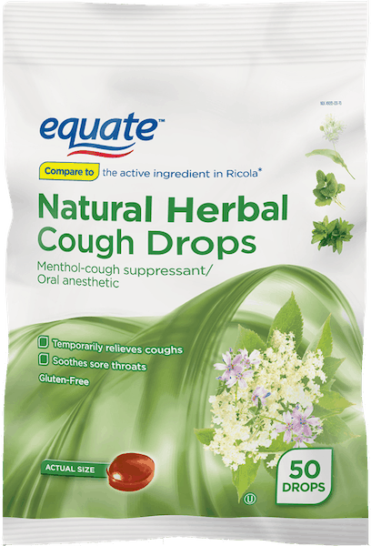 0 50 For Equate Natural Herb Cough Drops Offer Available At Walmart Printable Coupons