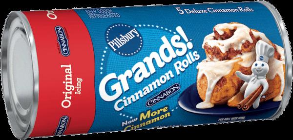 $0 25 for Pillsbury™ Grands Cinnamon Rolls  Offer available