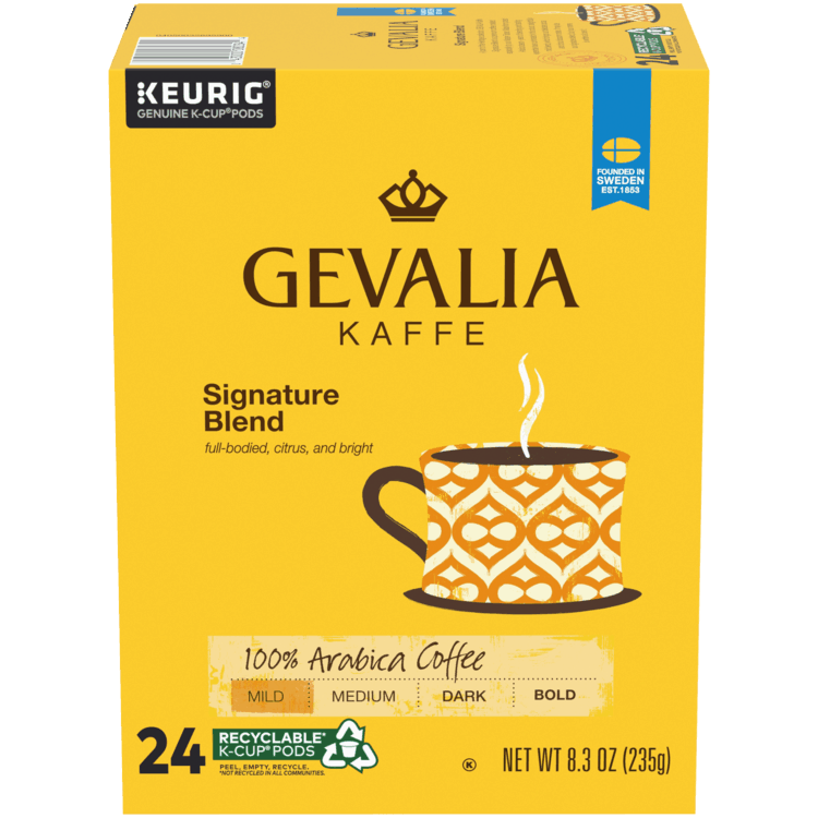 $2.00 for Gevalia Kaffe Coffee Pods (expiring on Sunday, 05/02/2021). Offer available at Target, Walmart, Walmart Pickup & Delivery, Target Online.