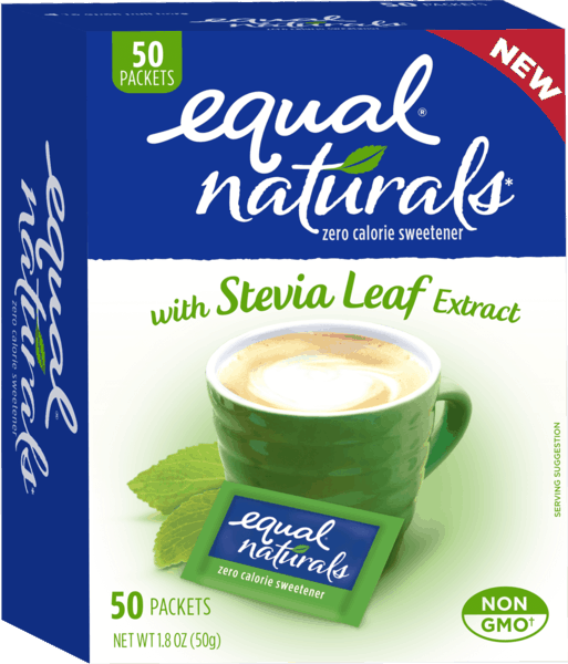 $1.00 for Equal® Naturals zero calorie sweetener (expiring on Friday, 12/08/2017). Offer available at multiple stores.