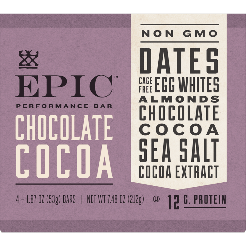 $1.00 for EPIC™ Performance Bars (expiring on Wednesday, 05/13/2020). Offer available at Target.