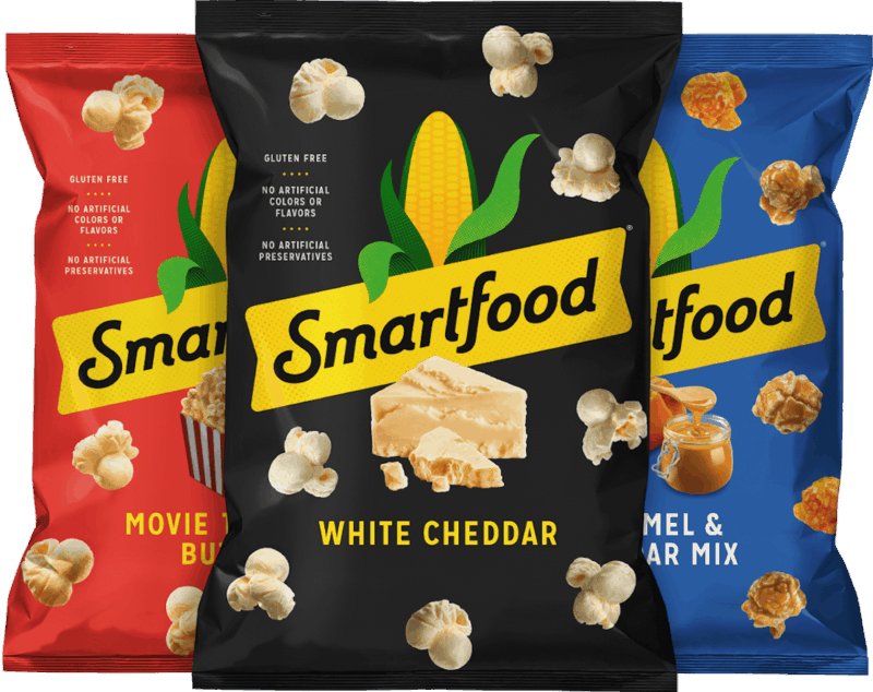 $1.00 for Smartfood® Popcorn. Offer available at multiple stores.