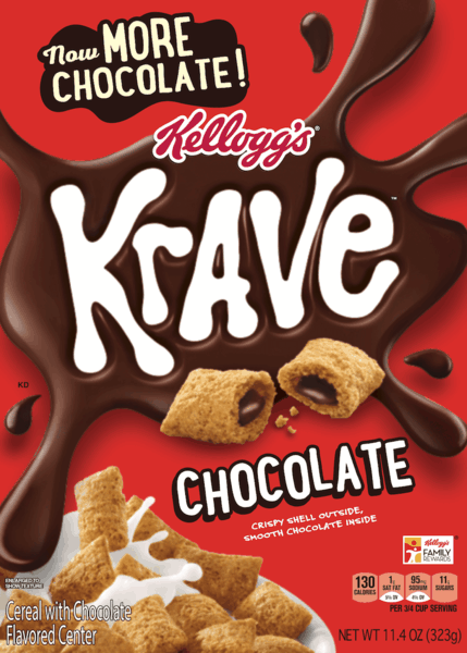 $1.00 for Krave® Cereal (expiring on Sunday, 12/31/2017). Offer available at Publix.