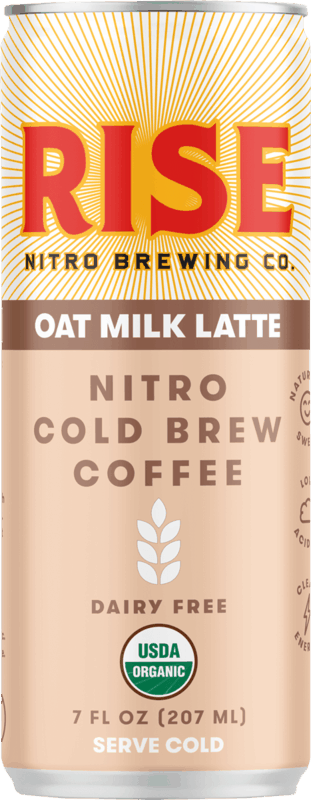 $1.00 for RISE Nitro Cold Brew Coffee (expiring on Saturday, 10/31/2020). Offer available at multiple stores.