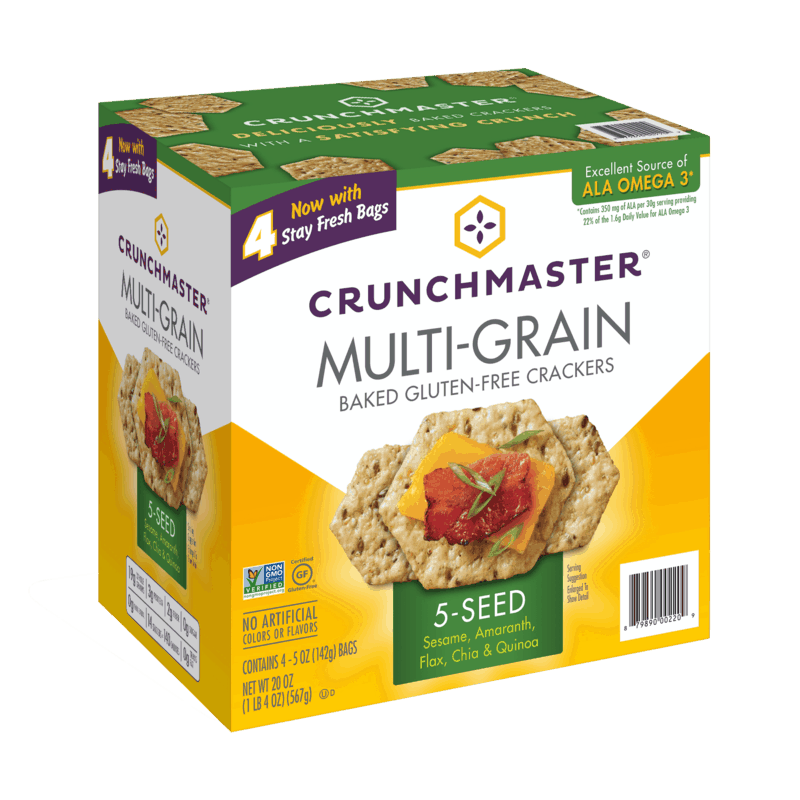 $1.50 for CRUNCHMASTER Crackers and Snacks (expiring on Monday, 03/15/2021). Offer available at Sam's Club.