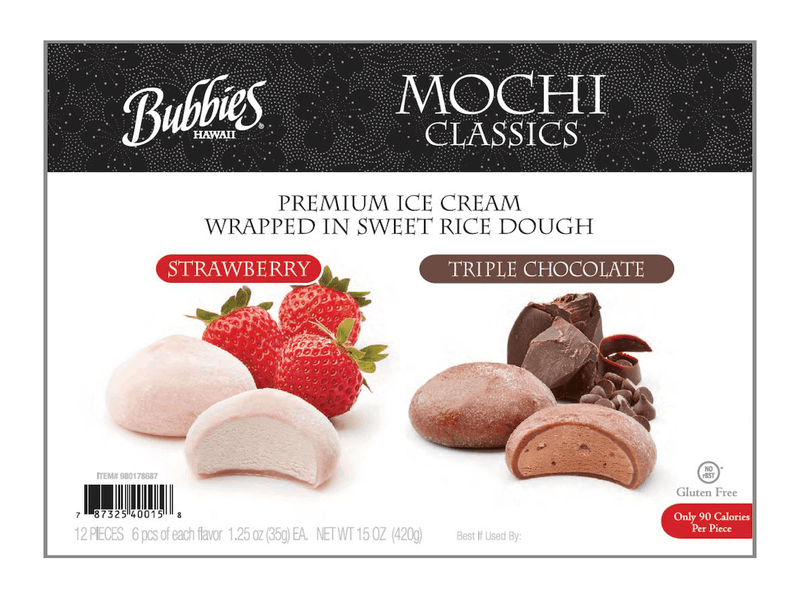 $1.50 for Bubbies Mochi Ice Cream Pack (expiring on Sunday, 07/26/2020). Offer available at Sam's Club.